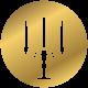 antiquites heitzmann icone chandelier